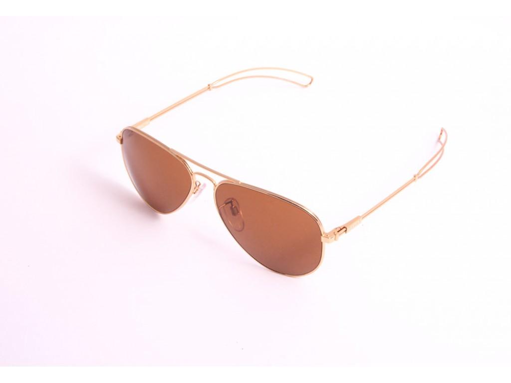 Мужские солнцезащитные очки TAVAT AM001S 58 GLD Тават