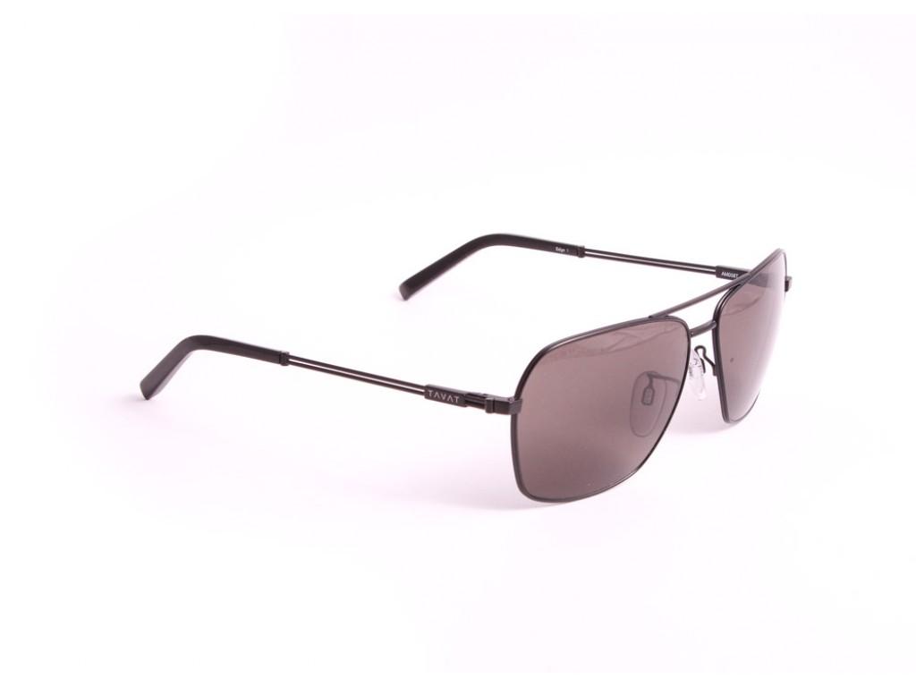Мужские солнцезащитные очки TAVAT AM008T 58 BLK Тават