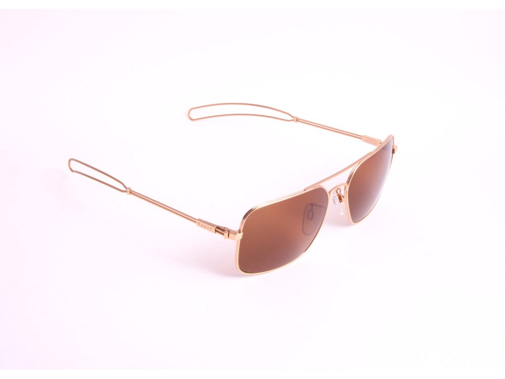 Мужские солнцезащитные очки TAVAT AM003T 60 GLD Тават