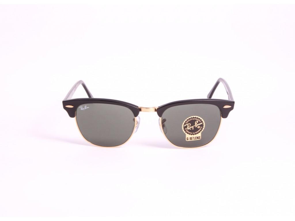 Женские солнцезащитные очки RAY BAN 3016 CLUBMASTER W0365