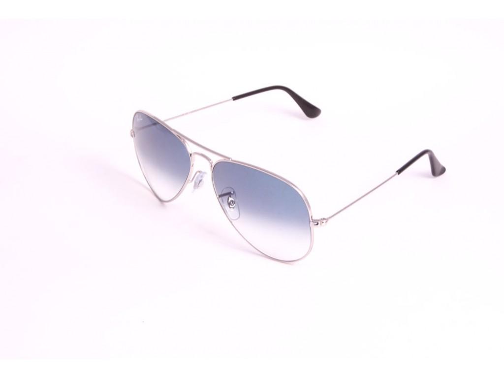 Мужские солнцезащитные очки RAY BAN 3025 AVIATOR LARGE METAL 003/3F