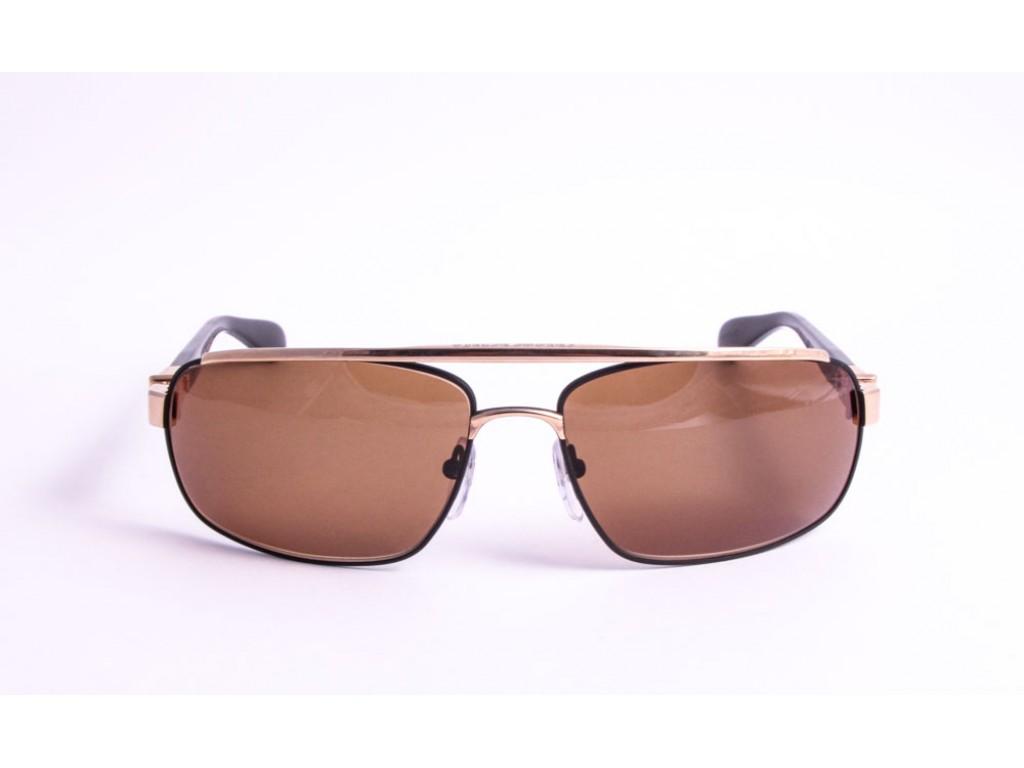 Мужские солнцезащитные очки CHROME HEARTS PENETRATION MBK/GP BK-P Хром хартс