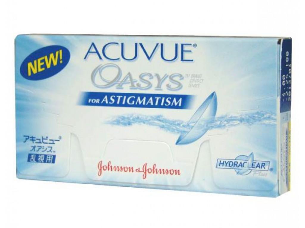 ACUVUE OASYS ASTIGMATISM (6 ЛИНЗ)