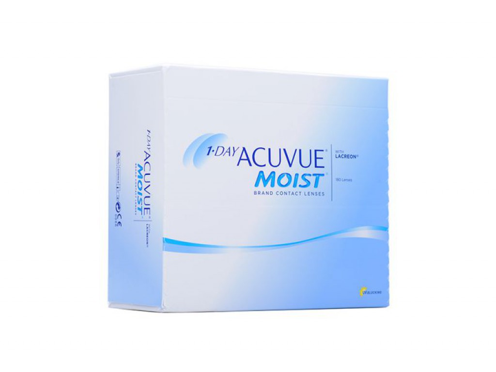 ACUVUE MOIST (180 ЛИНЗ)