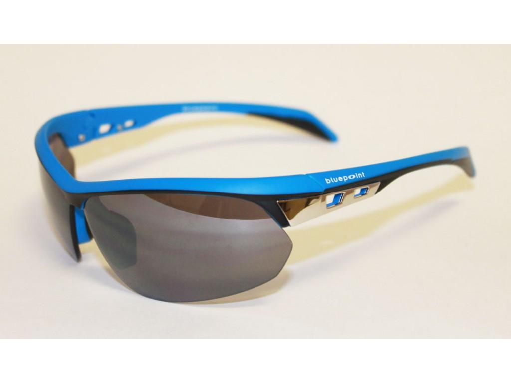 Мужские солнцезащитные спортивные очки Bluepoint 2004-00 БЛЮПОИНТ