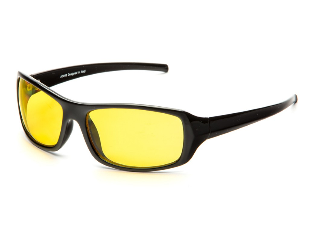 Водительские солнцезащитные очки DIOR premium AD048black ДИОР