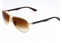 Солнцезащитные очки + футляр Ray Ban 8313 001 Рэй Бан