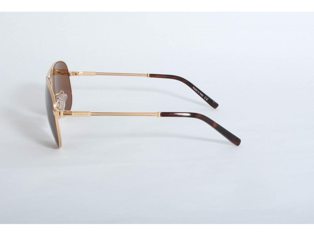 Солнцезащитные очки с меланином TAVAT am001t58-gld-nb ТАВАТ