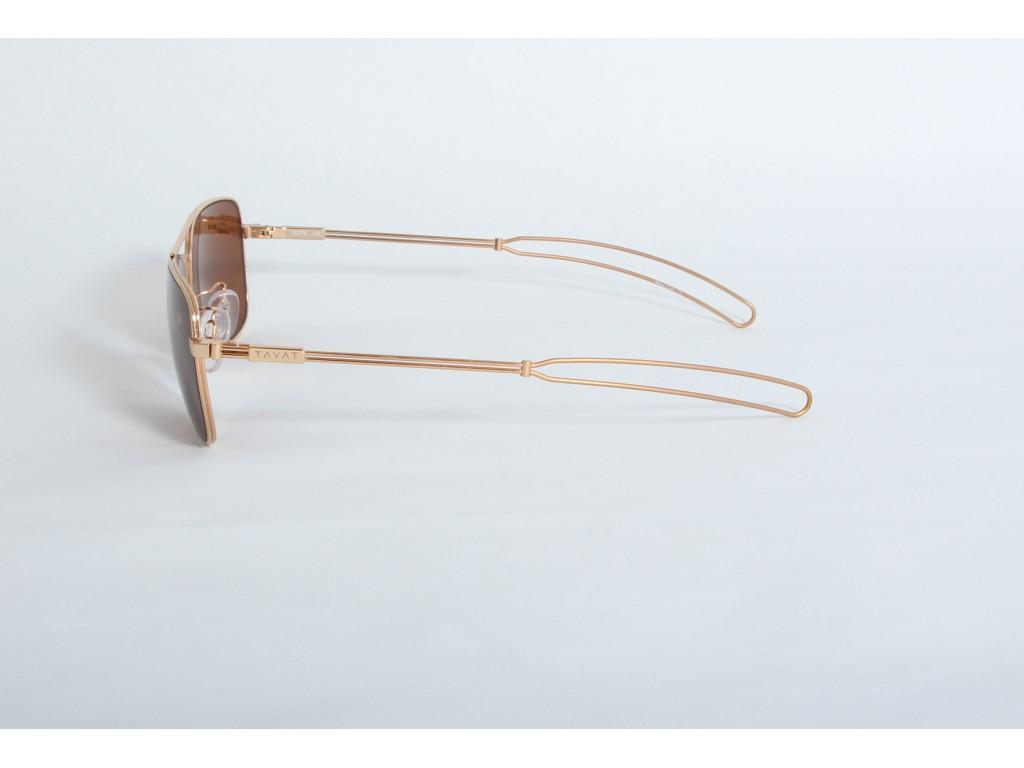 Солнцезащитные очки с меланином TAVAT am002s55-gld ТАВАТ