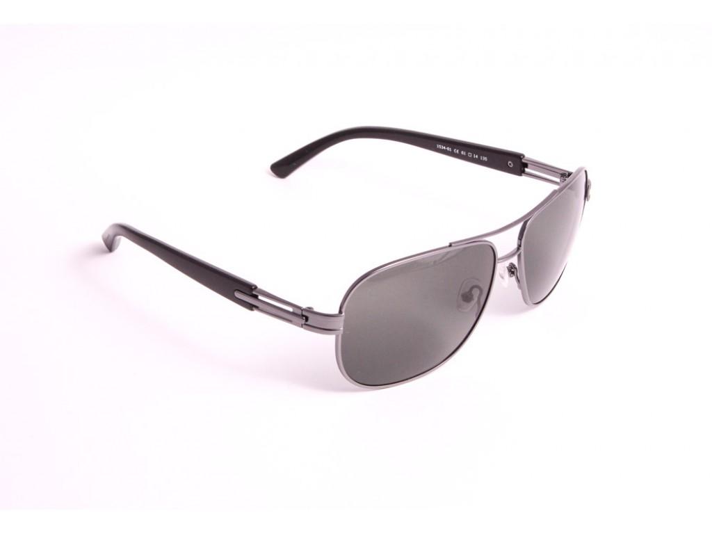 Мужские солнцезащитные очки BLUEPOINT 1534-01 Блюпоинт