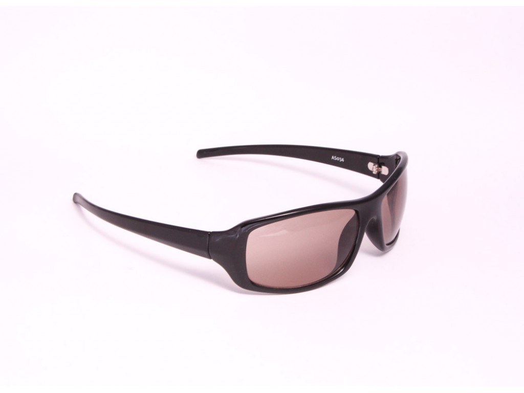 Мужские солнцезащитные очки ФЕДОРОВСКИЕ ОЧКИ AS034 black