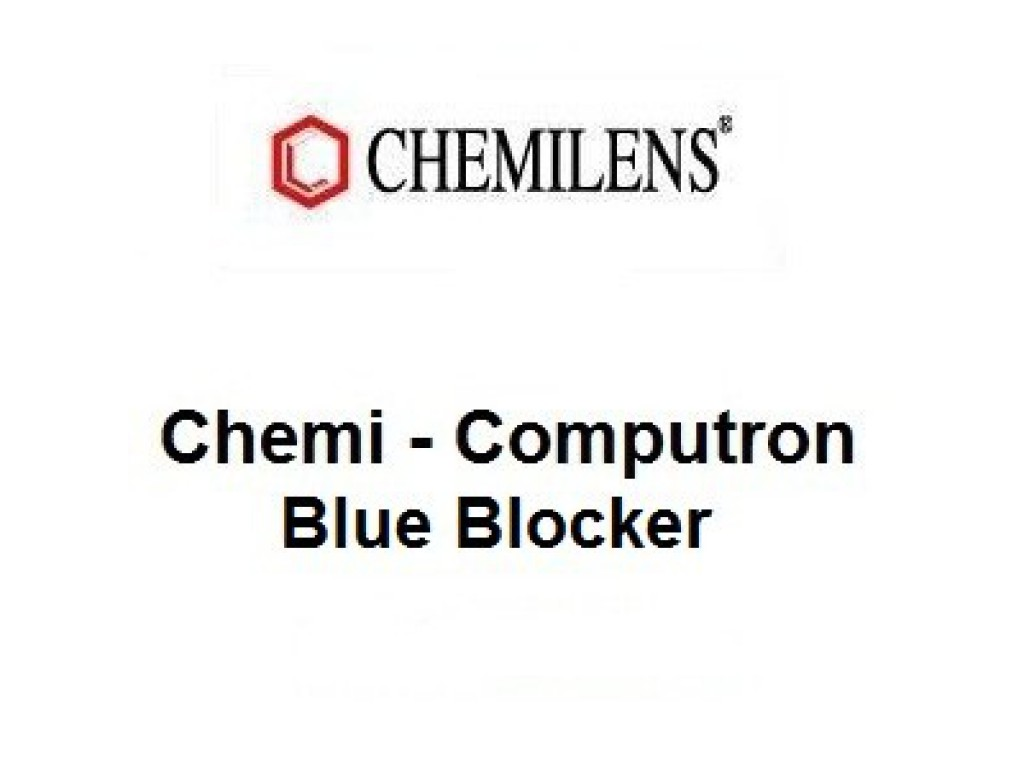Линза Chemi-computron 1,56 blue bloker HMC