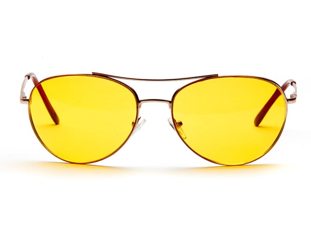 Водительские солнцезащитные очки DIOR comfort AD009gold ДИОР