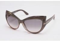 Женские солнцезащитные очки TOM FORD BARDOT TF28420B ТОМ ФОРД