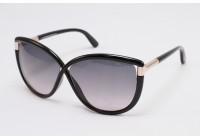 Женские солнцезащитные очки TOM FORD ABBEY TF32701B ТОМ ФОРД