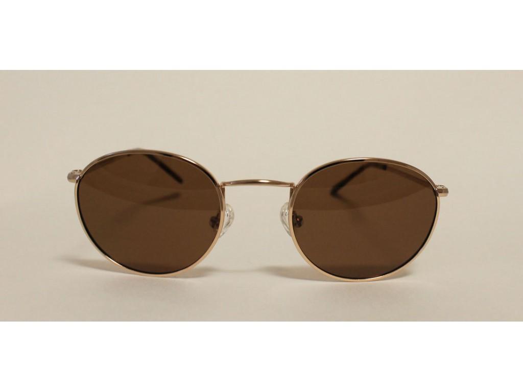 Круглые солнцезащитные очки Bluepoint 6032 с2 + чехол для очков БЛЮПОИНТ